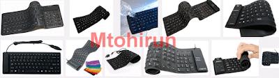Keyboard Flexyble untuk laptop
