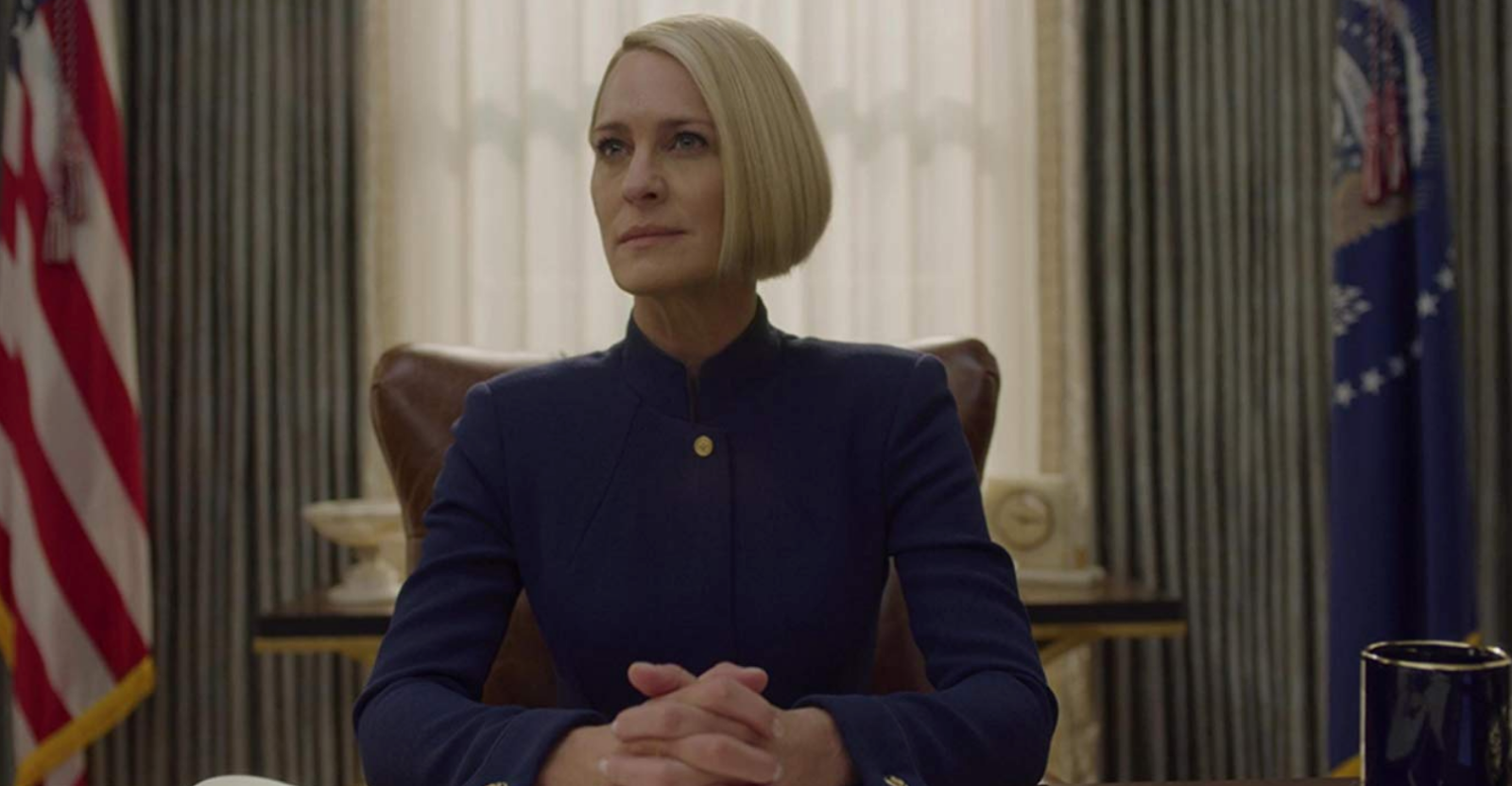 Claire Underwood en la sexta temporada de 'House of Cards'