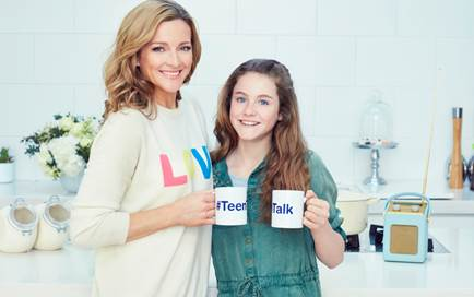 Gabby Logan Teen Talk Campaign