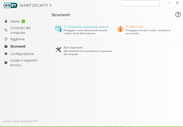screen01PPB - Recensione ESET Multi-Device Security Pack