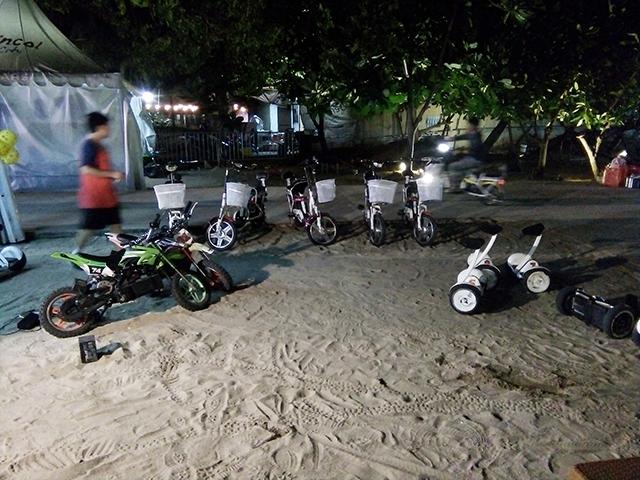 Ancol Beach City, Mal dengan Hamparan Pasir Putih
