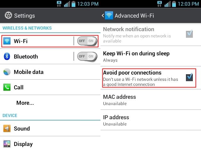 Wi-Fi Setting