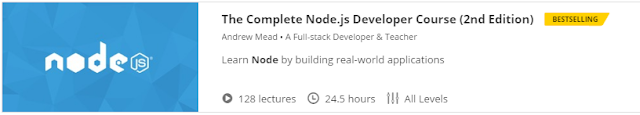 The Complete Node.js Developer Course (2nd Edition)