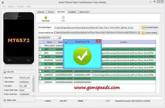Download SP Flashtool All Version For Windows - SMART FLASHER