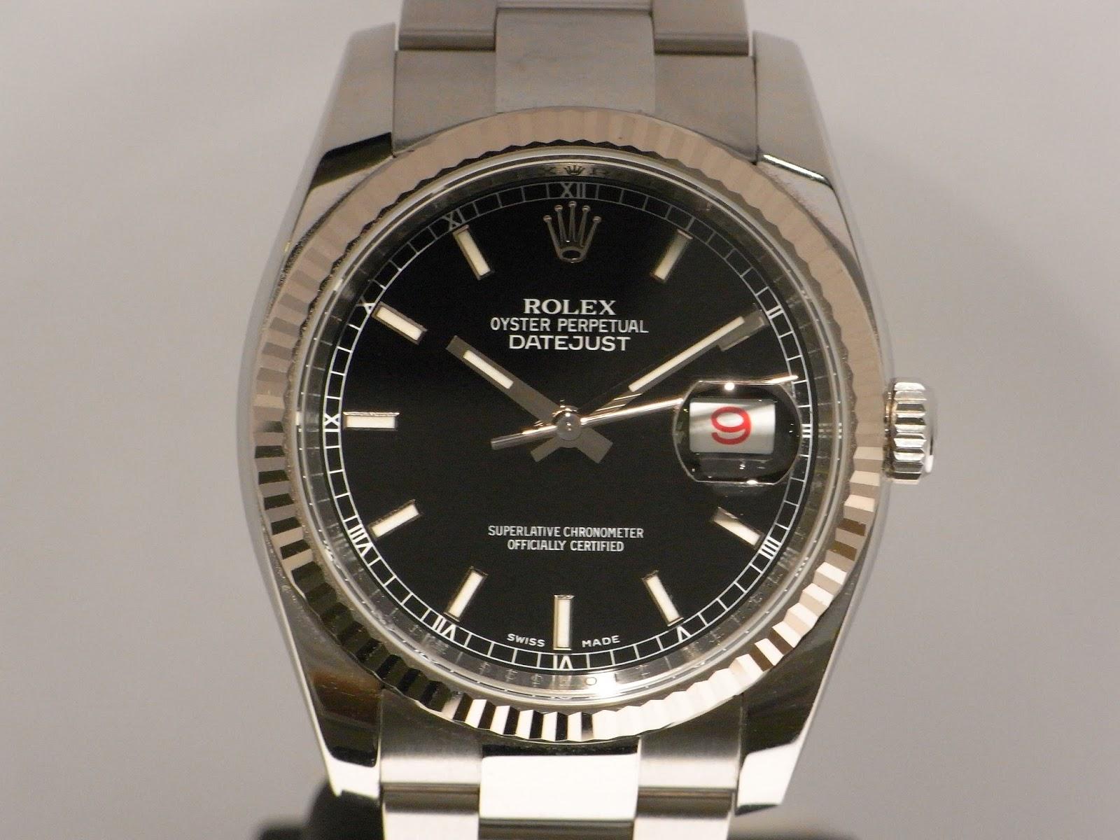 勞力士二手錶行: ROLEX DATEJUST 116234