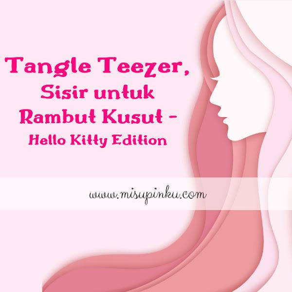 Tangle Teezer, Sisir untuk Rambut Kusut - Hello Kitty Edition
