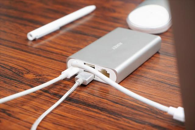 【Aukey USB-Cハブ CB-C55】コンパクトサイズで持ち運びもOK!VGA端子にLANポートまで備えた6-in-1USB Type-Cハブ、Aukey CB-C55レビュー!