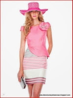 Vestido con medio peplum