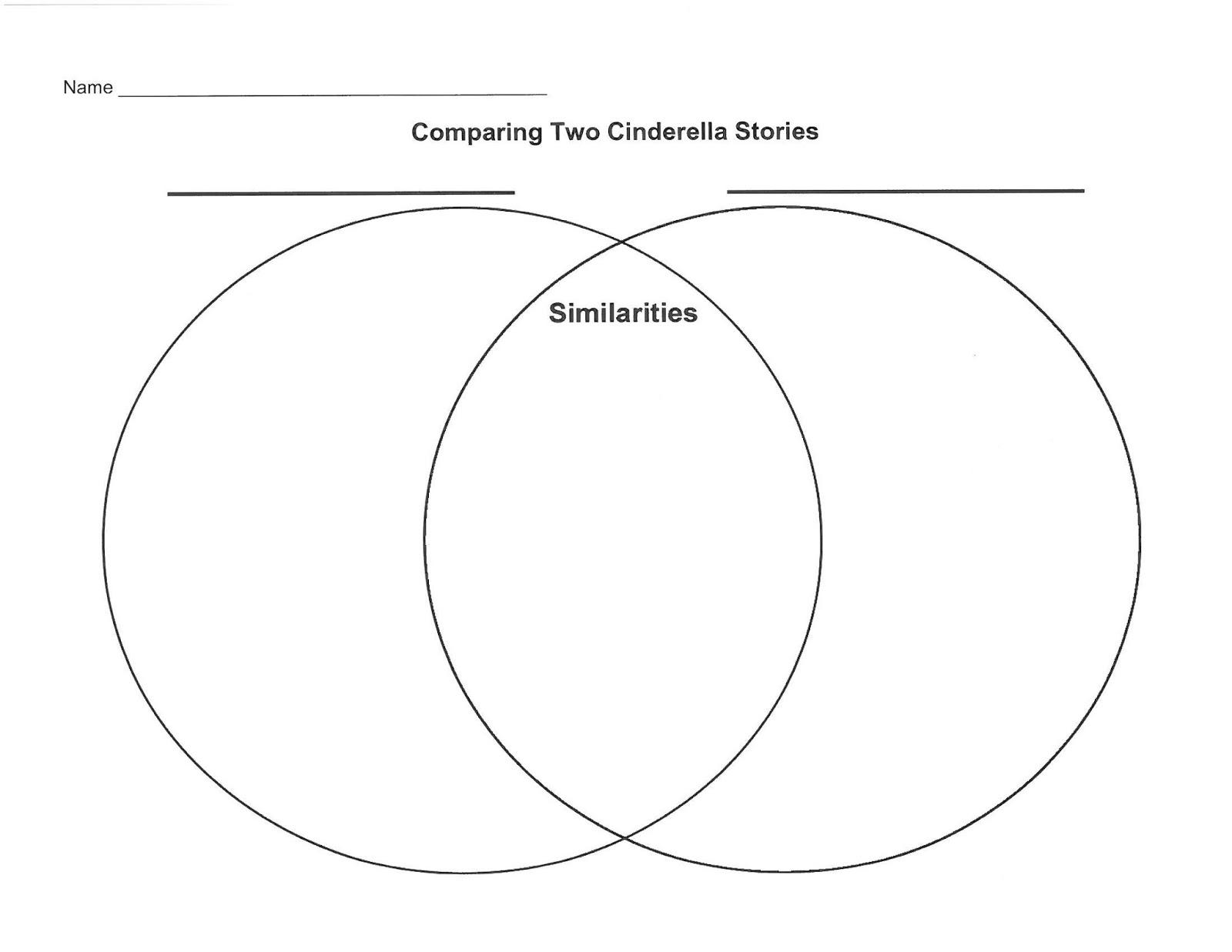 Venn Diagram Graphic Organizer Ibanez Rga32 Wiring Teaching Cinderella Stories From Around The World