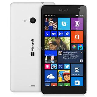 Мобильный телефон Microsoft Lumia 535 DS Black+White
