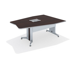 Mayline TransAction Media Table TAMT6 at OfficeAnything.com