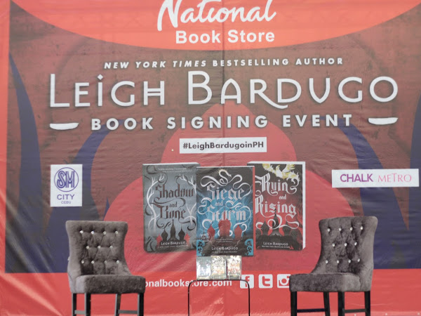 LEIGH BARDUGO BOOK SIGNING EVENT!