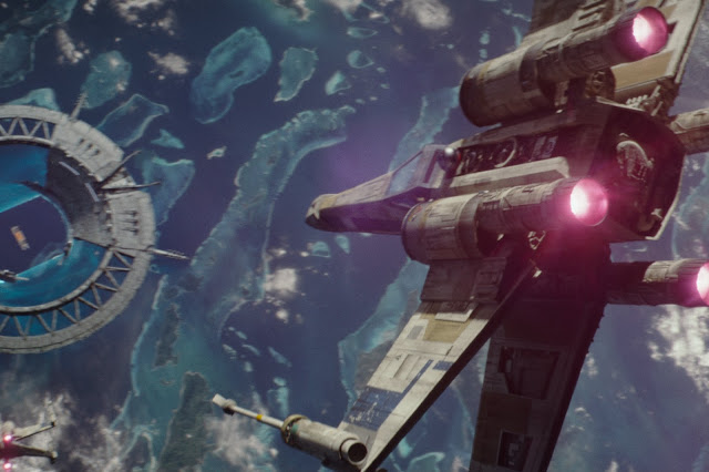 X-wing Rouge One Batalla Scarif