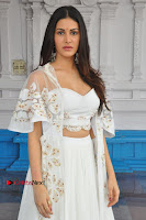 Telugu Actress Amyra Dastur Stills in White Skirt and Blouse at Anandi Indira Production LLP Production no 1 Opening  0106.JPG