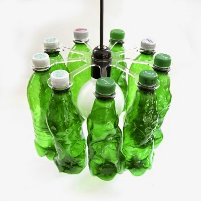 How to recycle decorative plastic bottles lighting for Recycled products from plastic bottles