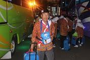Rombongan Calon Haji Asal Selayar Tiba Di Asrama Haji Sudiang Makassar