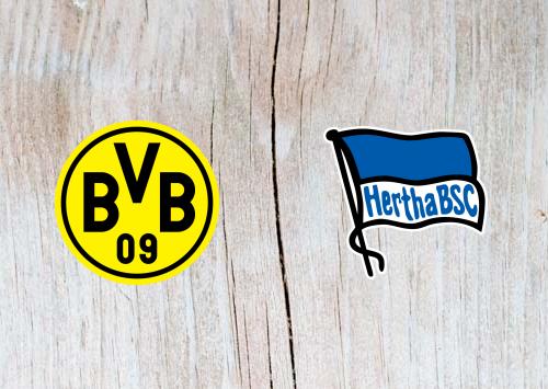 Borussia Dortmund vs Hertha Berlin Full Match & Highlights 27 October 2018
