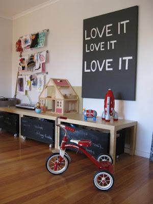 Desain Kreatif Tempat Bermain Anak di Dalam Rumah