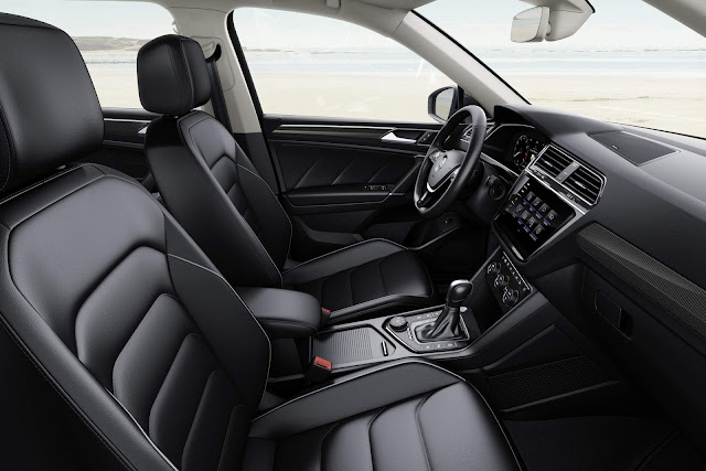 VW Tiguan AllSpace 2017 - espaço dianteiro
