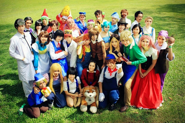 Cosplay Harvest Moon Back to Nature