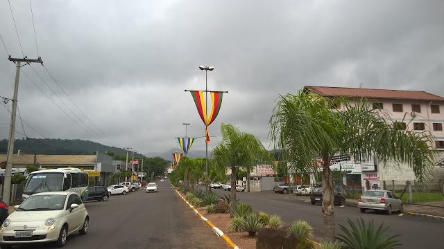 Centro de Três Coroas, Vale do Paranhana, RS