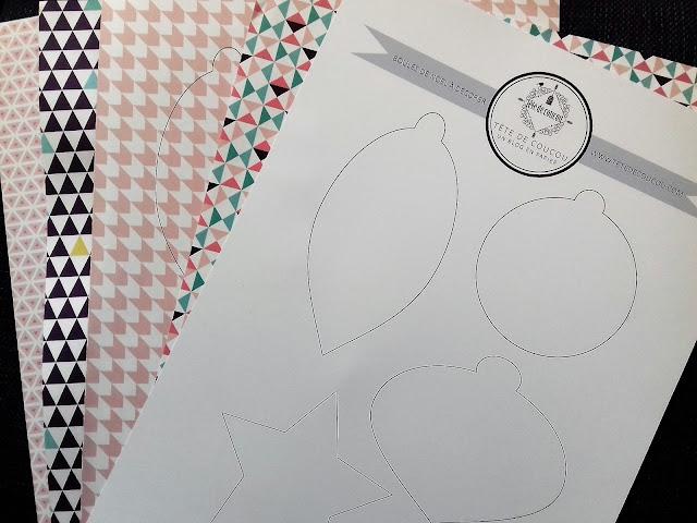 Atelier créatif enfant gratuit à imprimer décoration de boules de Noël Tête de Coucou