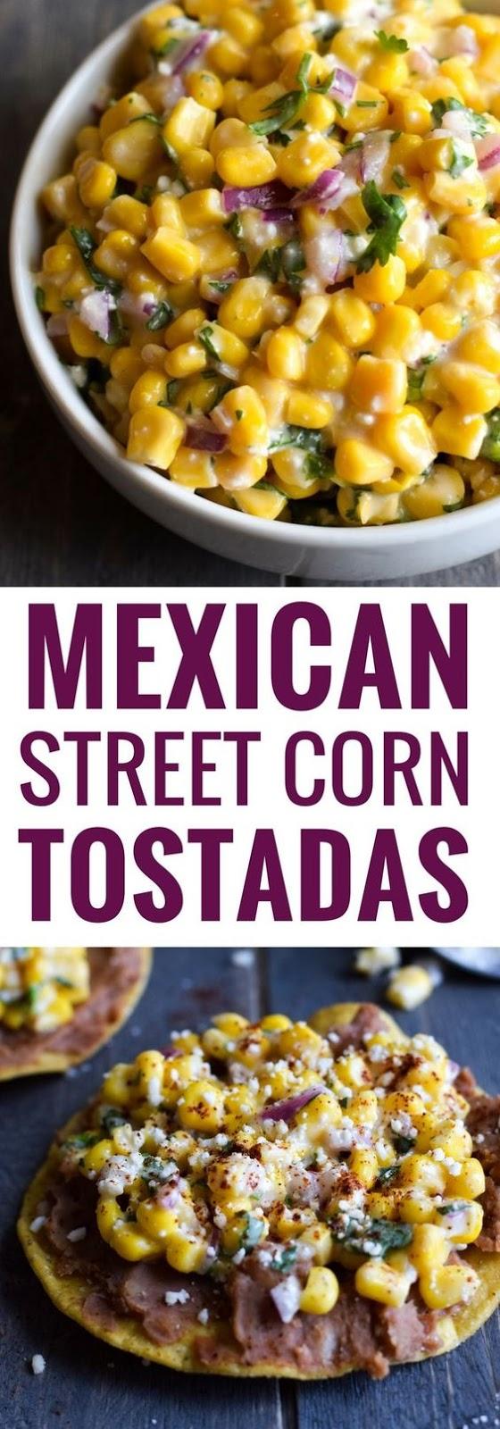 Mexican Street Corn Tostadas