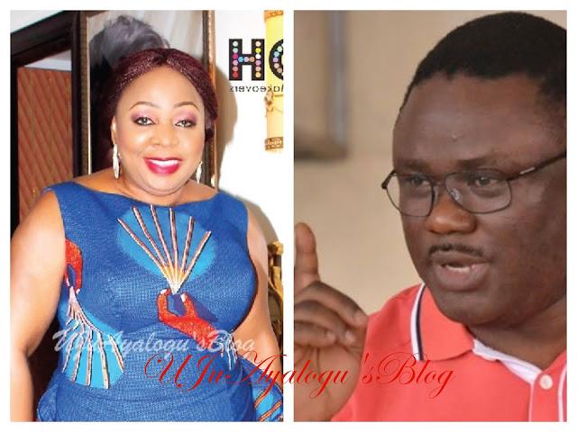 Senator Ita-Giwa covering up allegation of funds diversion against her – Governor Ayade