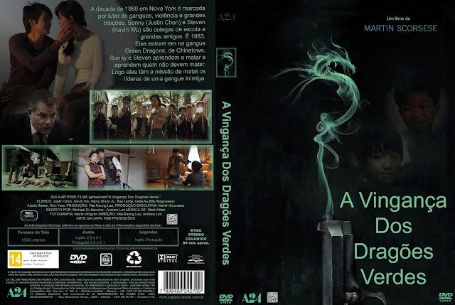 Capa DVD A Vingança Dos Dragões Verdes