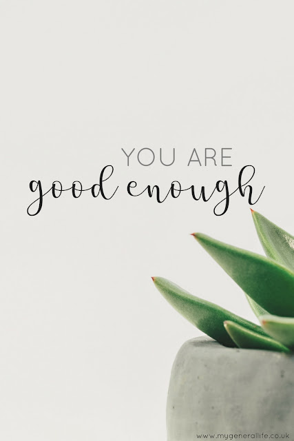 You are good enough. Yes you are and I'm going to tell you why. Click to read more >>