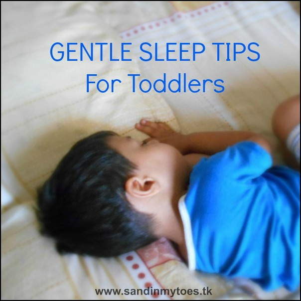 A few tips gentle to help your toddler's bedtime go smoothly.