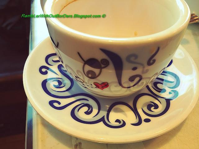 Tea cup, Tsui Wah Restaurant, Fu Tung Plaza, Tung Chung, Hong Kong