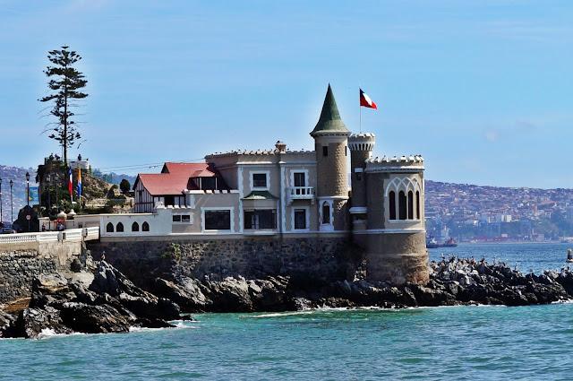 Visitar o Castelo Wulff com crianças em Viña del Mar