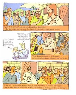 la dispute des apôtres