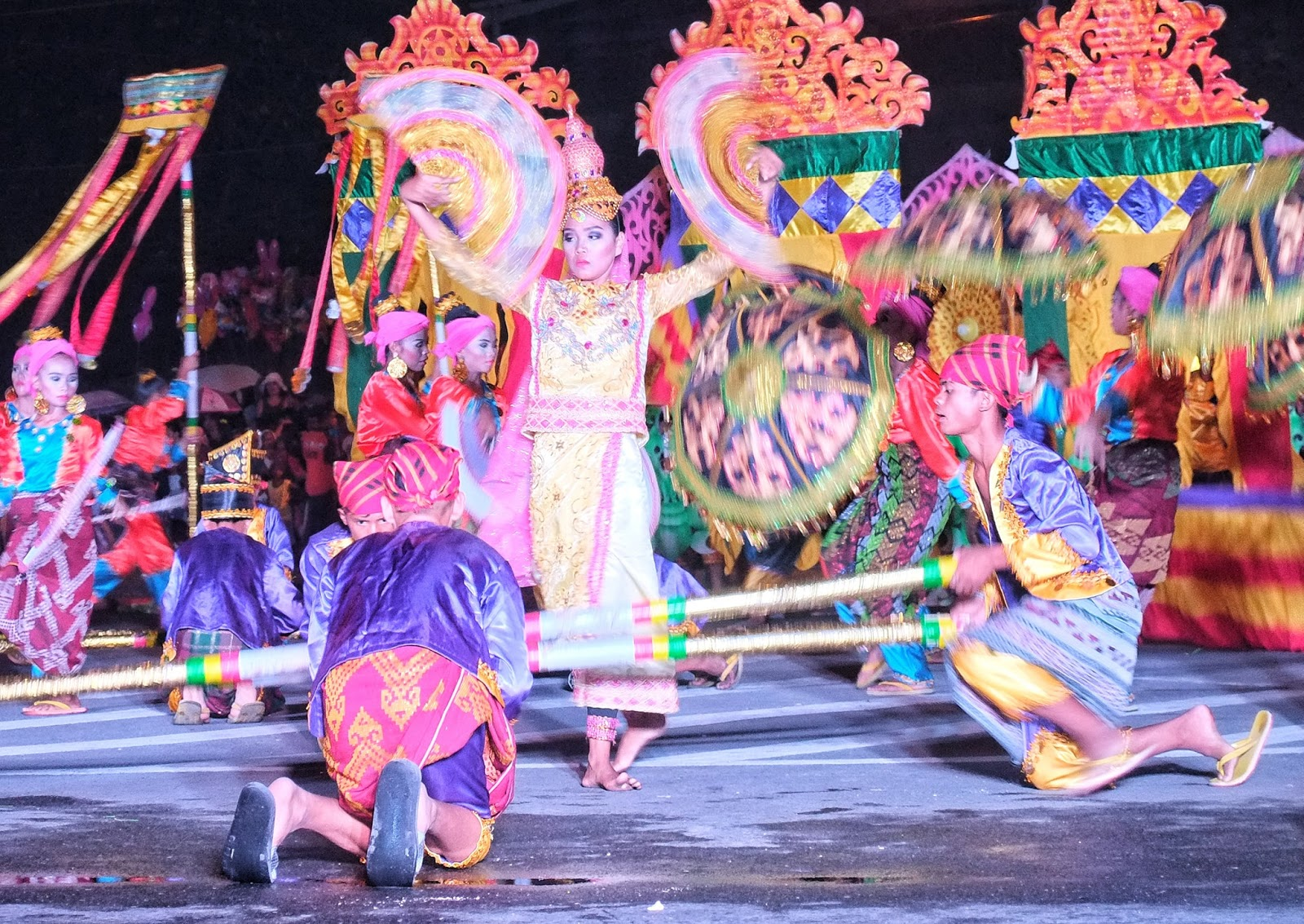 Contingent from Matalam, Cotabato bags Hinugyaw Festival 2019 Pyesta Kolon Datal Street Dancing Competition
