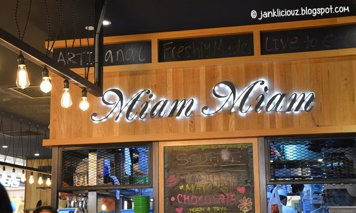 Miam Miam: New high tea set