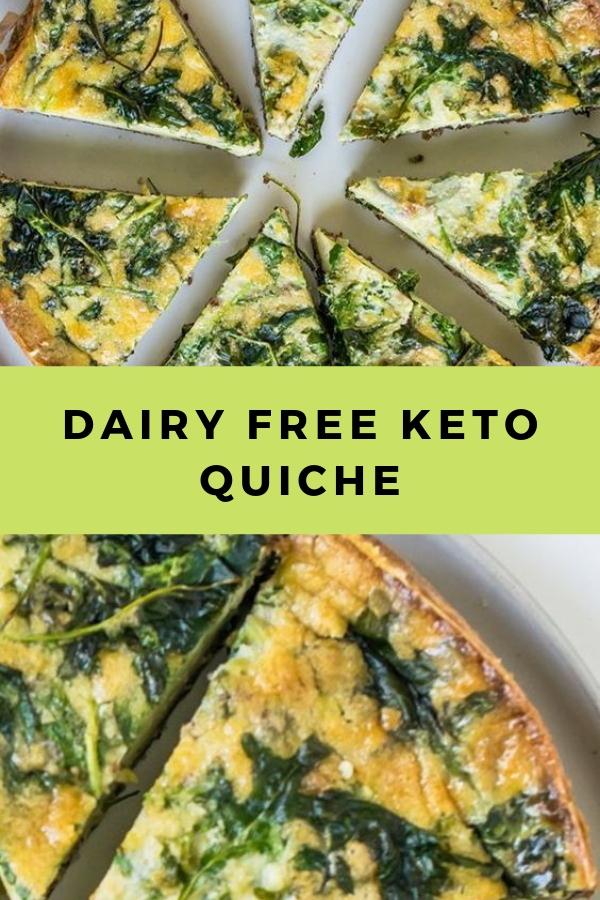 Dairy Free Keto Quiche #breakfast #keto