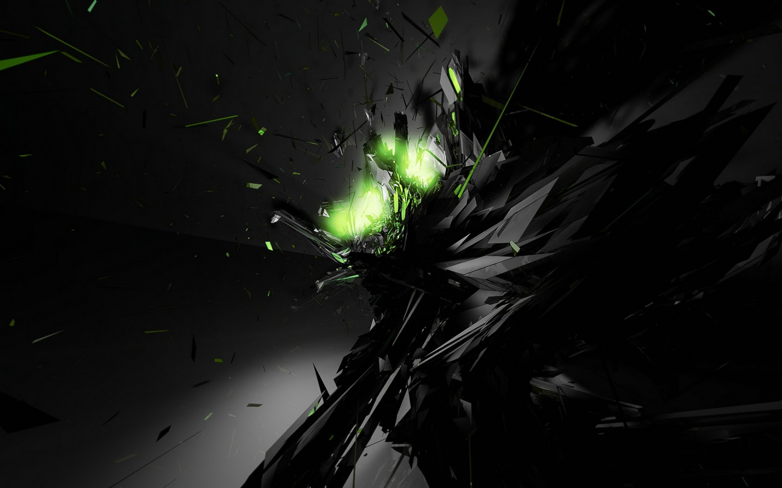 Wallpaper Hd Abstract Black