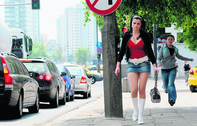 На каких улицах стоят проститутки это
