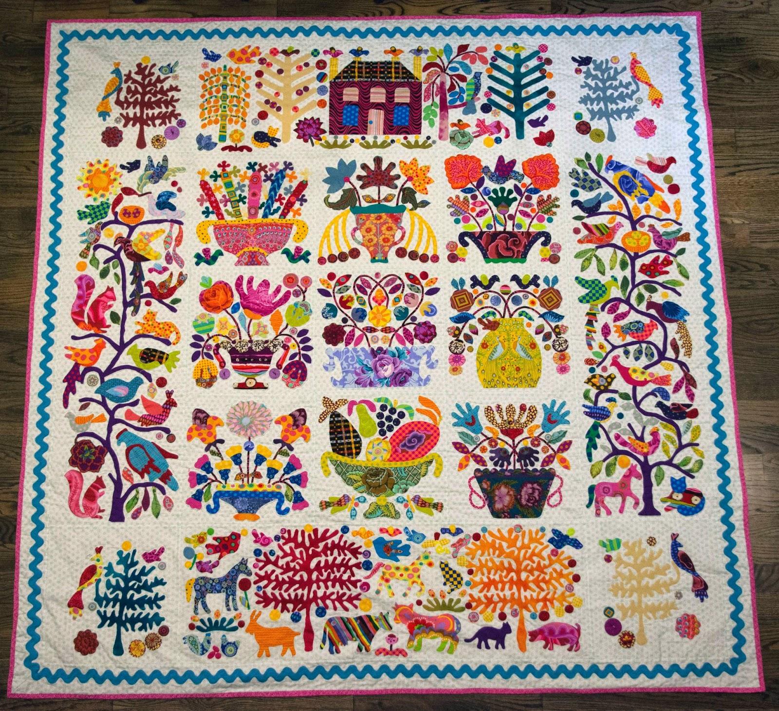 Kim Mclean Quilt Patterns.Glorious Applique 2014