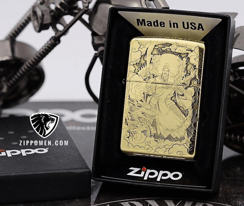 Zippo Khắc Quan Vũ - Trương Phi | Zippo | Zippo USA