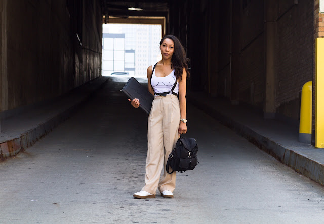 Sade Spence Style Blogger New York Fashion Week NYFW