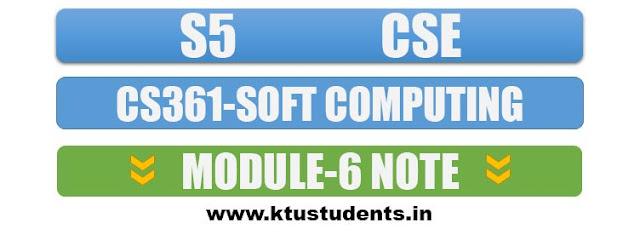 cs361 soft computing note module6