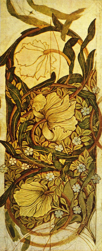 The Red House William Morris Wallpaper Design