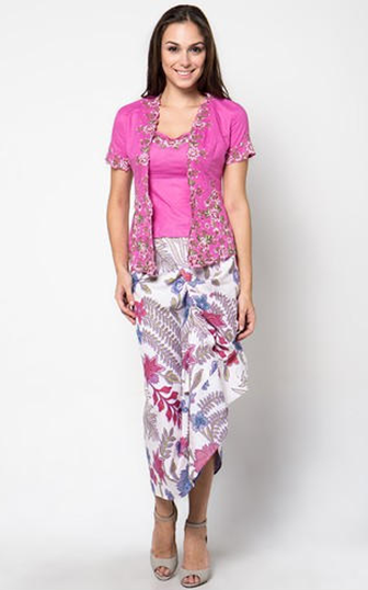 Model Kebaya Kartini Bordir Modern Cantik Dan Elegan