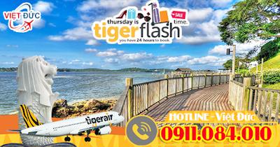 Đại lý bán vé máy bay khuyến mãi Tiger Air giá rẻ