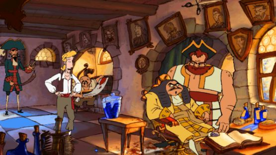 Download The Curse of Monkey Island game for pc highly compressed