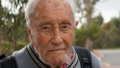 Where are you going to give your life 104 years old scientist
