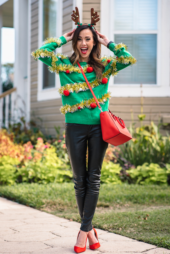 Tacky Christmas Party Ideas Part - 42: Party Attire