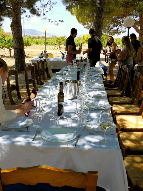 Murcia: Lunch With Bodegas Castaño.